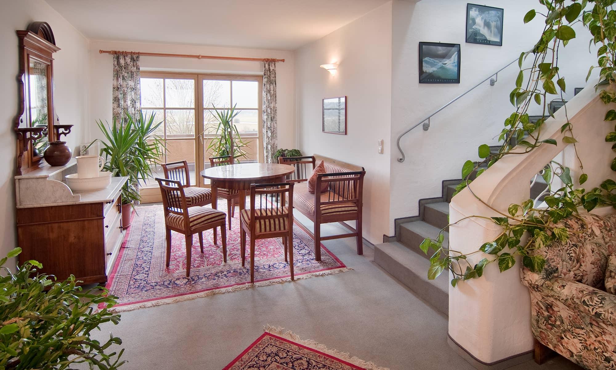 Treppenhaus Hotel Gasthof Brunnlechner