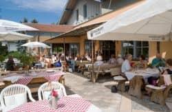 Terrasse Gasthof Brunnlechner