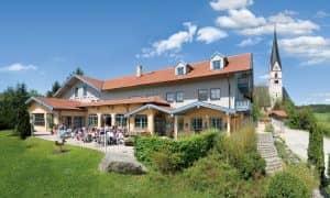 Gasthof Brunnlechner Babensham Gebäude