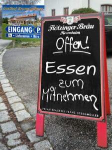 Gasthof Brunnlechner bietet Essen zum mitnehmen und Lieferservice